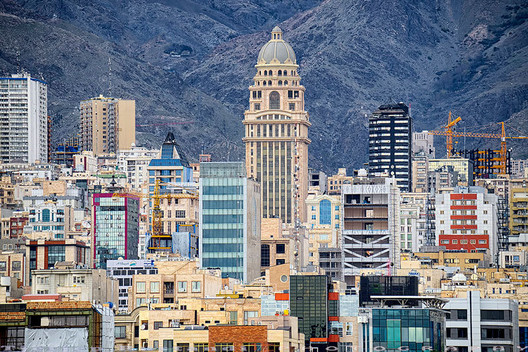 Tehran. Courtesy of Hi Tehran Hostel. A myriad of architectural styles converge–and come into conflict–in Iran's capital.