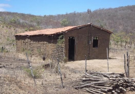 Wattle and daub house in Maranguape, Ceará, Brasil. © Image CC BY-SA 3.0