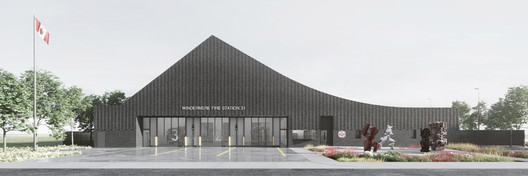 Windermere Fire Station 31 / gh3* with S2 Architecture. Image via Canadian Architect Magazine