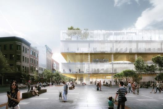 Bibliothèque Gabrielle-Roy / Consortium Saucier+Perrotte with GLCRM Architectes. Image via Canadian Architect Magazine