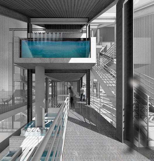Engaging the Post-Industrial Frontier / Joshua Nieves, Dalhousie University. Image via Canadian Architect Magazine