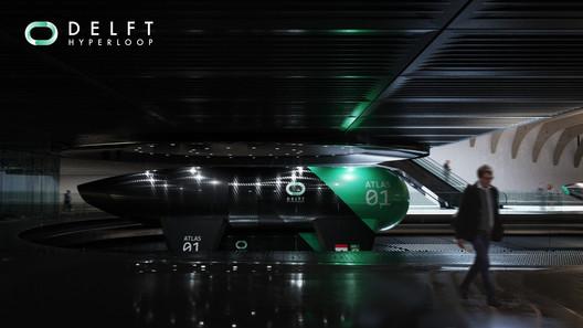 Courtesy of Delft Hyperloop