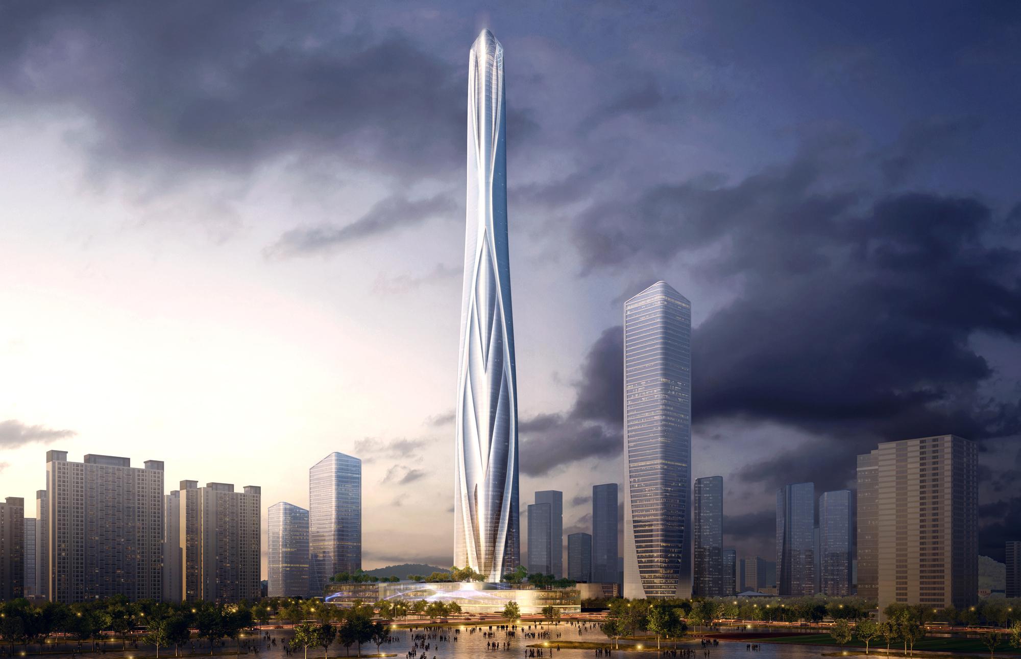 Adrian Smith + Gordon Gill To Design China's Tallest