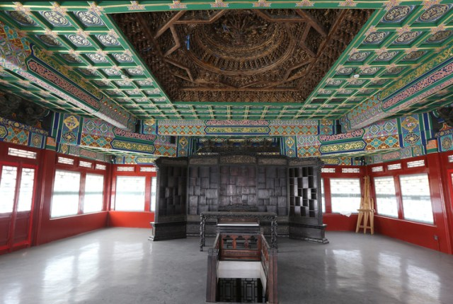 Fuwangge after conservation. Image via World Monuments Fund