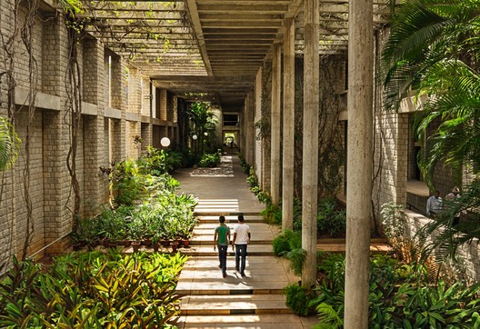 Indian Institute of Management, Bangalore, photo by Vinay Panjwani. Image Courtesy of Vitra Design Museum
