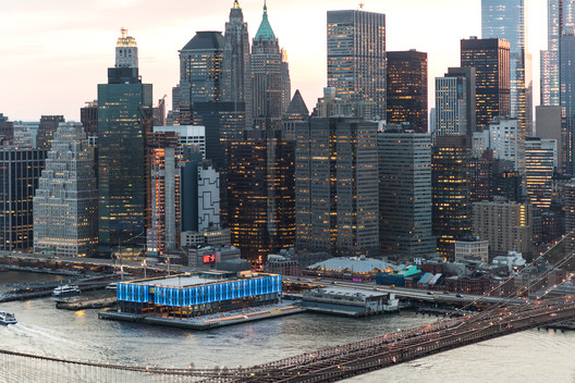 Pier 17 South Street Seaport. Image Courtesy of Bendheim