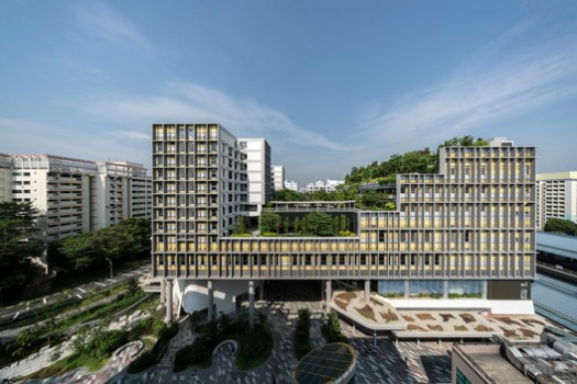 © Darren Soh. ImageWorld Building of the Year 2018, supported by GROHE: WOHA Architects - Kampung Admiralty, Singapore