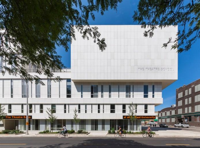 The Theatre School, DePaul University / Pelli Clarke Pelli Architects, © Jeff Goldberg/ESTO