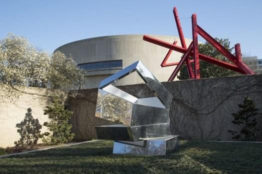 Existing Sculpture Garden. Image Courtesy of Hirshhorn Museum
