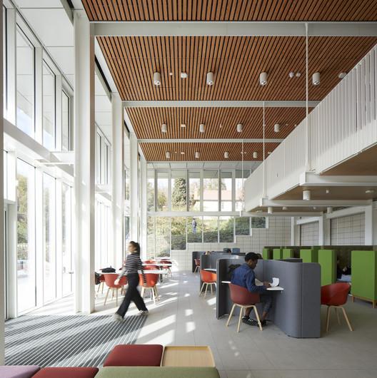 Teaching and Learning Building, UoN. Image© Martina Ferrera