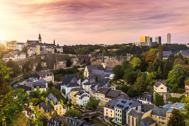 Luxembourg City, Luxembourg. Image © Sabino Parente