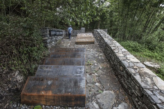The memorial area. Image © Dongzi Jiao