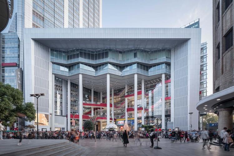 City Restoration Festival / Shanghai Kokaistudios Shimao, the front elevation. Image © Qingshan Wu