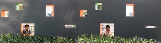 wall interactive window. Image © Ruihua Liang