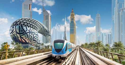 Dubai Super Park. Image Courtesy of Machou Architects