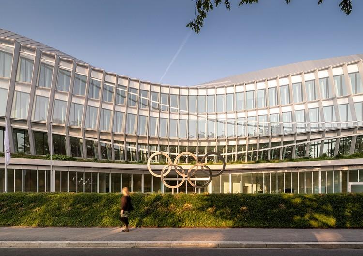 La Casa Olímpica de 3XN se abre en Lausana, Casa Olímpica. Imagen cortesía del Comité Olímpico Internacional (COI) / MORK, Adam