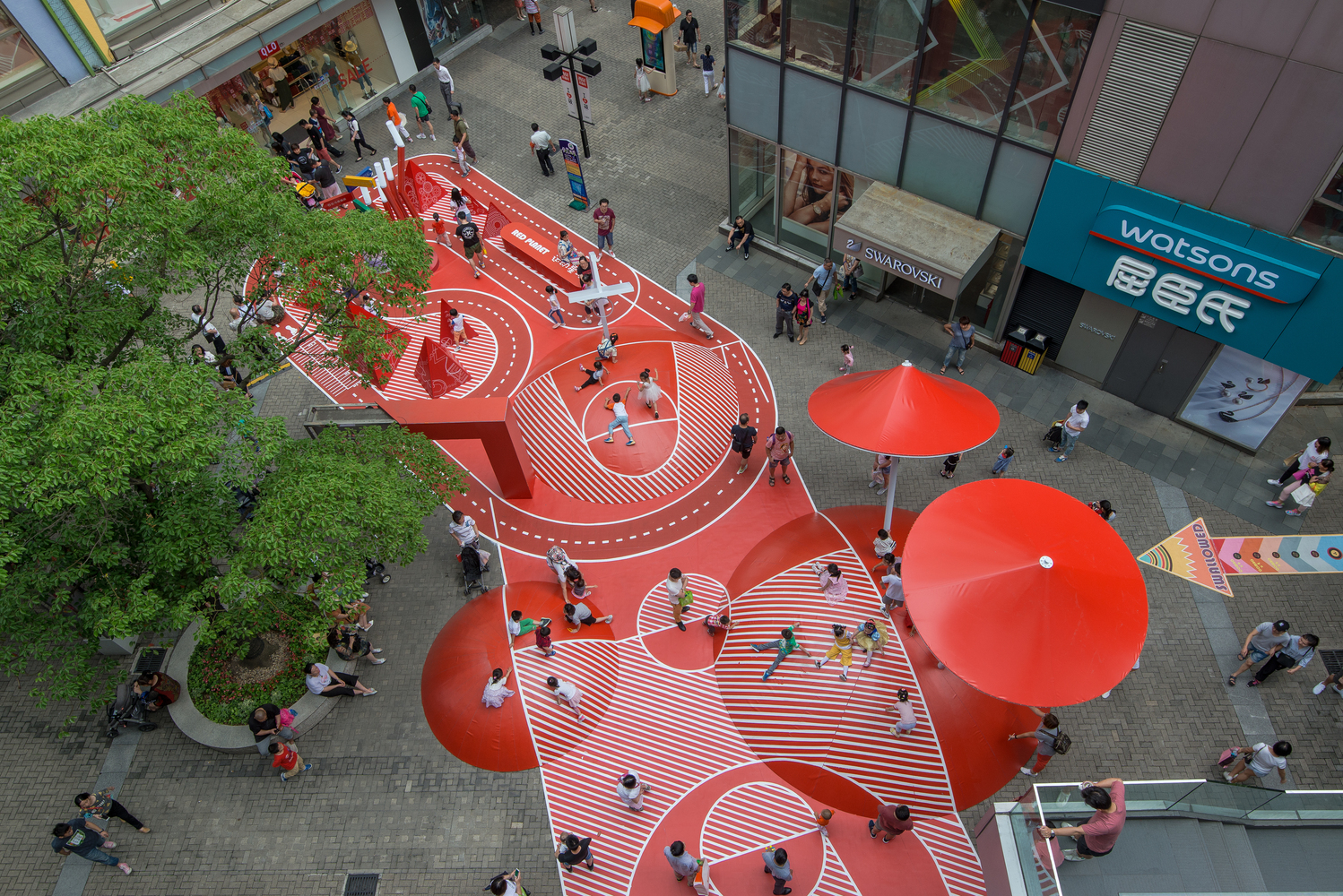 Gallery Of Temporary Plazas 13 Public Spaces That Activate The City 9