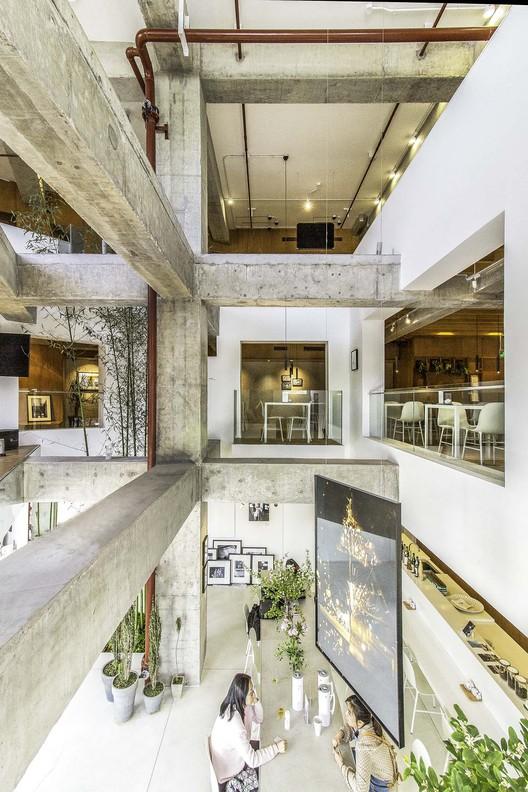 3F atrium view. Image © Martijn de Geus