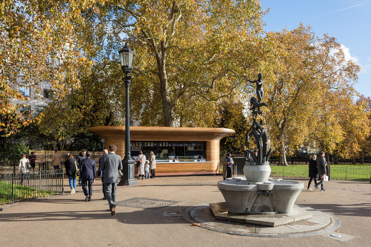 The Royal Parks Kiosks - Ritz Corner. Image © Luke Hayes