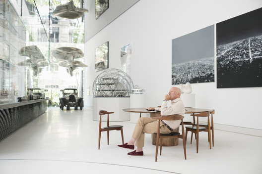 Norman Foster, Founder and Executive Chairman, Foster + Partners. Image © Guillermo Rodríguez