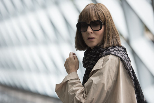 OMA's Seattle Public Library serves as the backdrop to a scene from the new film Where'd You Go, Bernadette?. Image Courtesy of Annapurna Pictures