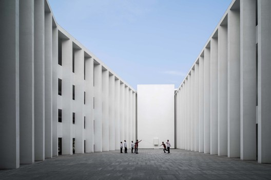 central courtyard. Image © Schran Images