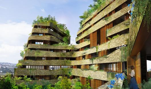 Jean Nouvel Imagines Aquarela A Residential Development In