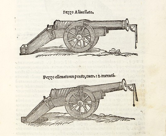Images taken from Nicola Tartaglia, Nova scientia, second book, Distantia del transito, 1558