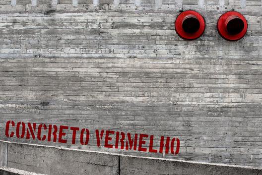 Sesc Pompeia / Lina Bo Bardi. Image © Fernando Pires
