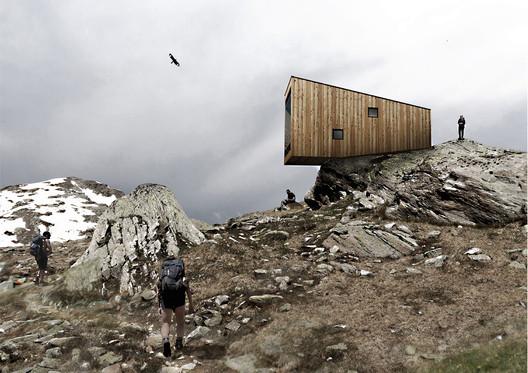 Bivouac #2 / Chiara Tessarollo, Skye Sturm and Facundo Arboit. Image Courtesy of YACademy