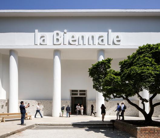 Padiglione Centrale Giardini_Photo by Francesco Galli. Image Courtesy of La Biennale di Venezia