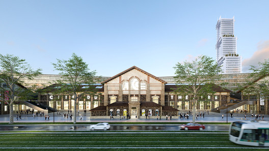 Courtesy of 2020 Nieto Sobejano Architecte mandataire & Marin Trottin Architecte associé