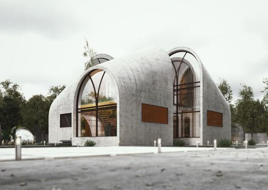 ARC House. Image Courtesy of ESHTIYAGHI STUDIO