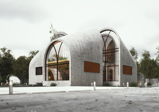 ARC House. Image Courtesy of ESHTIYAGHI STUDIO