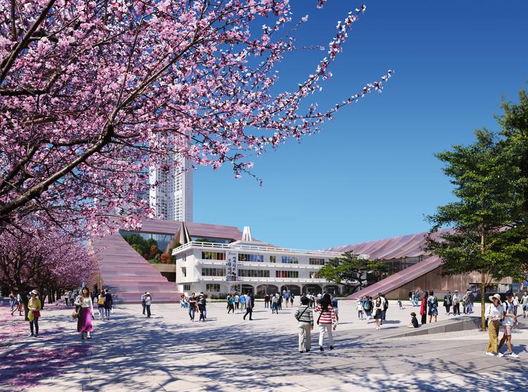 Snøhetta Unveils New Cheongju City Hall in South Korea   ArchDaily