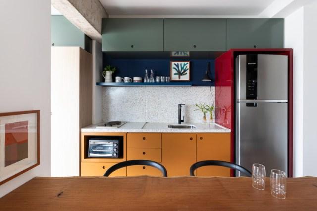 Apartamento TLP / Renato Mendonça Arquitetura. Foto © Lufe Gomes
