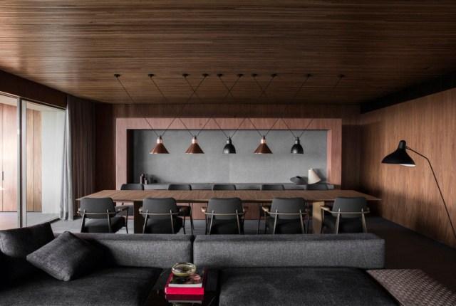 Flat#12 / Studio MK27 - Marcio Kogan + Diana Radomysler + Luciana Antunes + Pedro Ribeiro. Foto © Jonas Bjerre-Poulsen