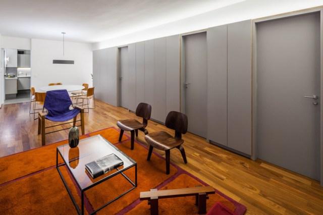 Apartamento João Moura / Canoa Arquitetura + Pedro Del Guerra. Foto © Rafaela Netto