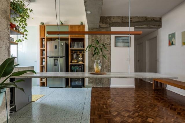 Apartamento Higienópolis / Teresa Mascaro. Foto ©Pedro Mascaro