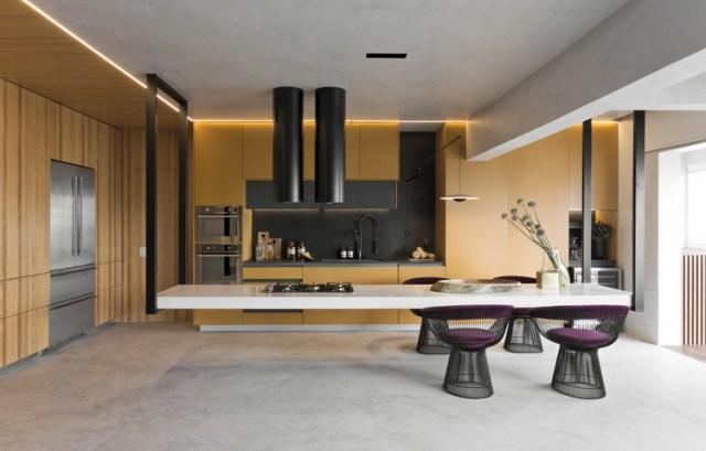 Cozinha Dijon / Diego Revollo Arquitetura. Foto ©Alain Brugier