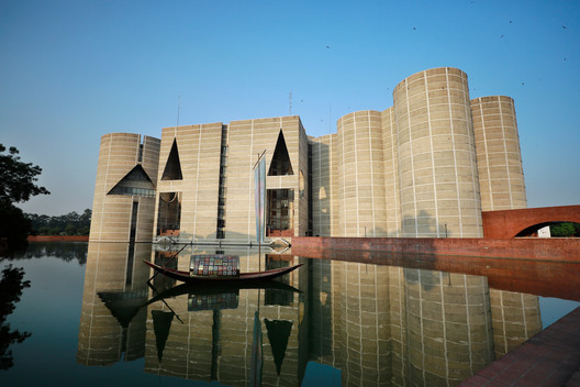 Jatiya Sangsad Bhaban or National Parliament House was designed by Louis Kahn. Image © Sk Hasan Ali | Shutterstock