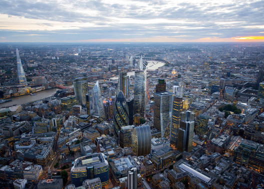 Central London. Image Courtesy of CPAT / Hayes Davidson / Jason Hawkes