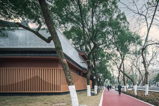 Southeast facade. Image © Artin Ng
