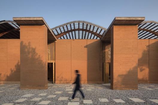 main entrance. Image © Ce Wang