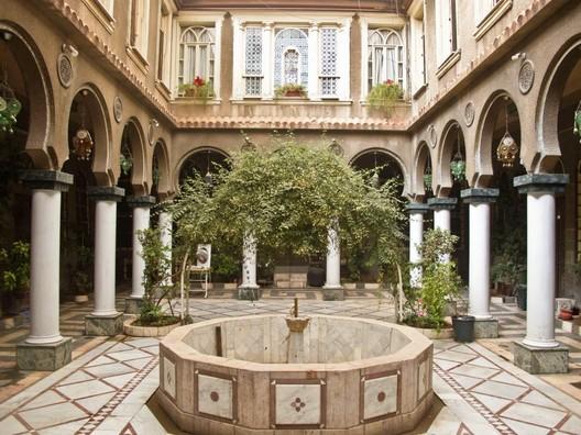 Beit Rumman Hotel, Damascus. Image via Tumblr Account syrian-courtyard