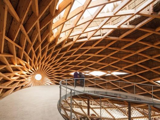 Tij Observatory / RAU architects + RO&AD Architecten. Image © Katja Effting