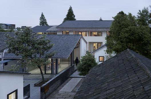Birdview of 1st-4th courtyard house. Image © Bowen Hou