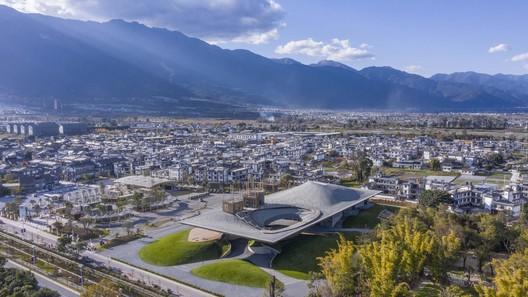 aerial view. Image © Weiqi Jin