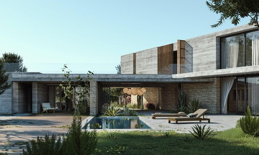 D Residence. Image Courtesy of Jemma Chidiac Achitects _ By JPAG.co