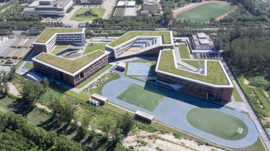 aerial view. Image © Zhi Xia